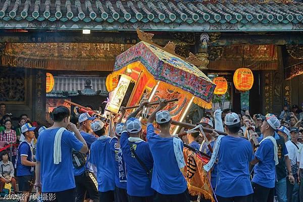保安宮保生文化祭放火獅