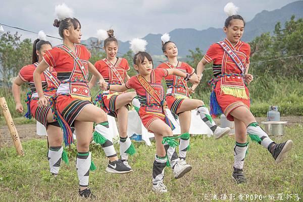 餐桌上的部落旅行稻田腳印餐桌5