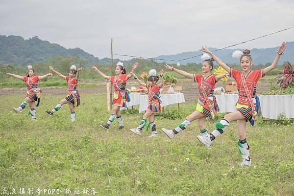 餐桌上的部落旅行稻田腳印餐桌7.5
