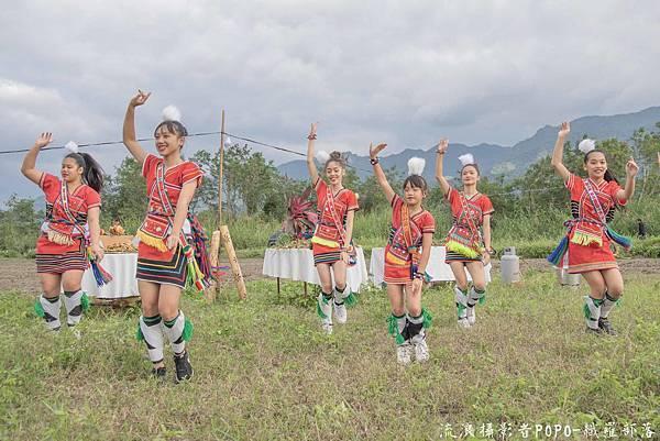 餐桌上的部落旅行稻田腳印餐桌6
