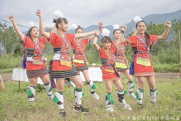 餐桌上的部落旅行稻田腳印餐桌7