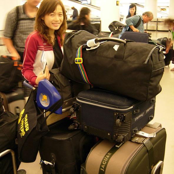 我們倆的行李