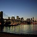 曼哈頓 + 布魯克林橋夜景