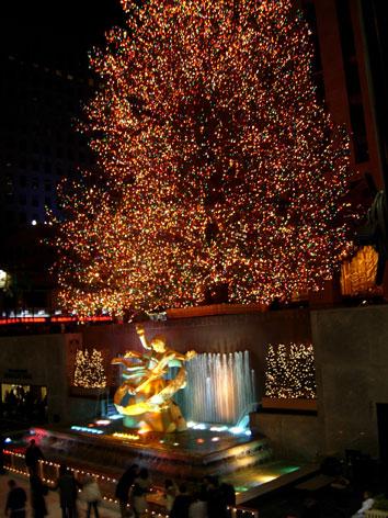 at Rockefeller Center