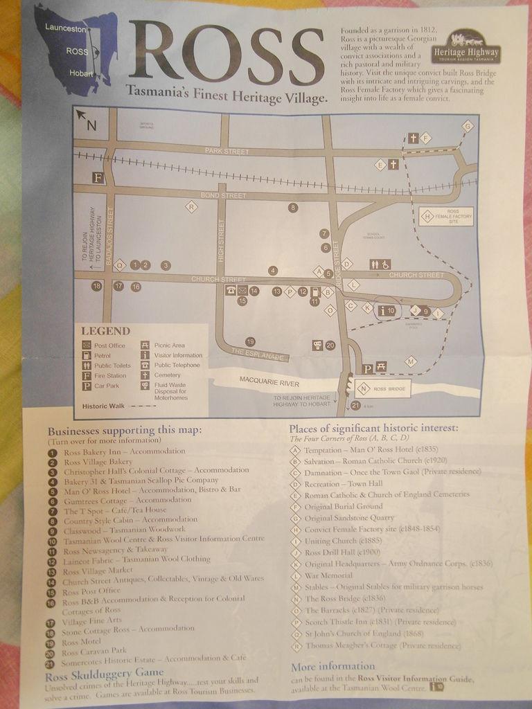 Ross街道圖