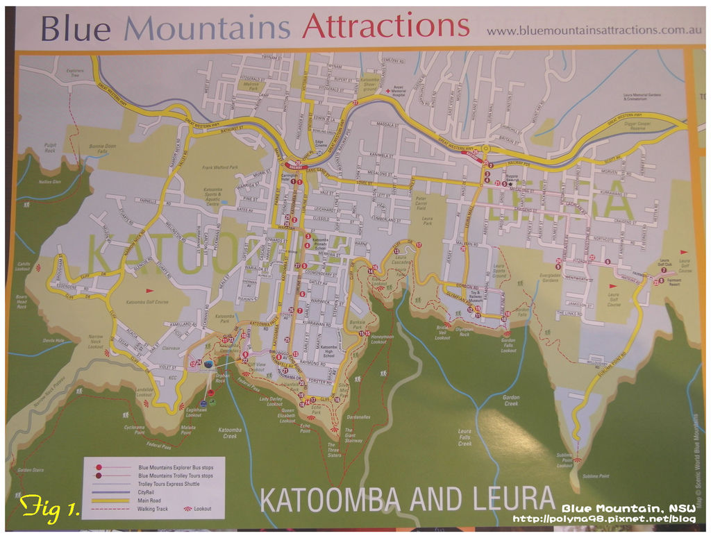 Katoomba Map