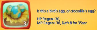 Crocodile Bird's Egg