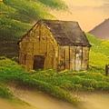 重蓋的小木屋