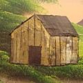 蓋歪了的小木屋
