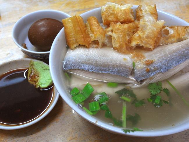 魚肚+油條 標準配備