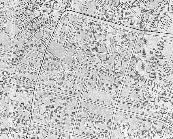 1915年街道規劃圖