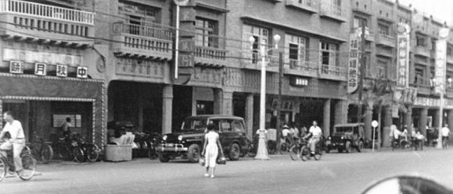 1958年台南中正路(局部)