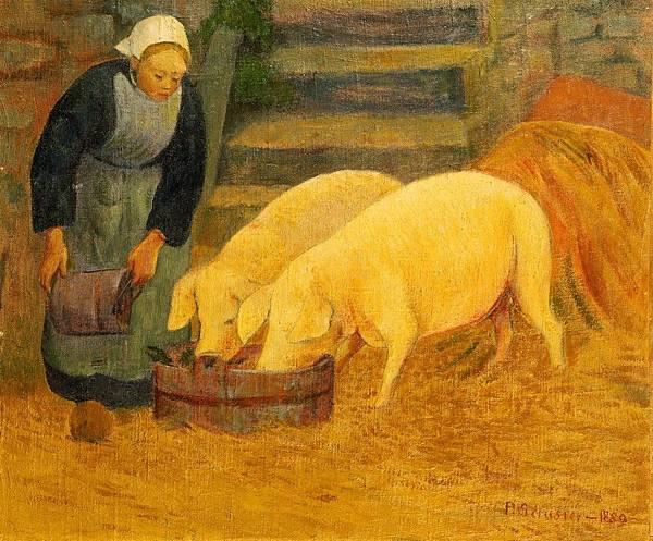 66-餵豬的布列塔尼農婦-01.jpg