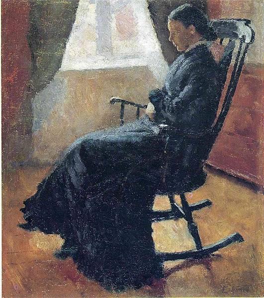 1883 Aunt Karen in the Rocking Chair.jpg