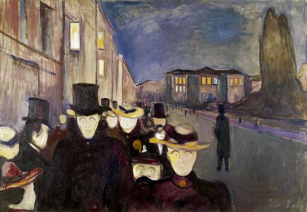 1892 Evening on Karl Johan Street.jpg