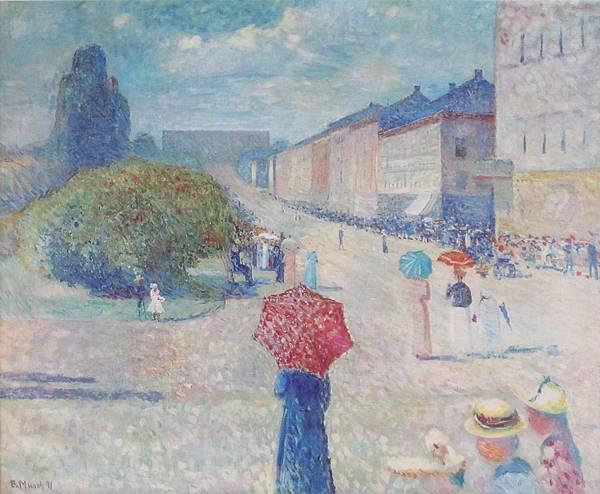 1889 Spring Day on Karl Johan Street - 1890.jpg
