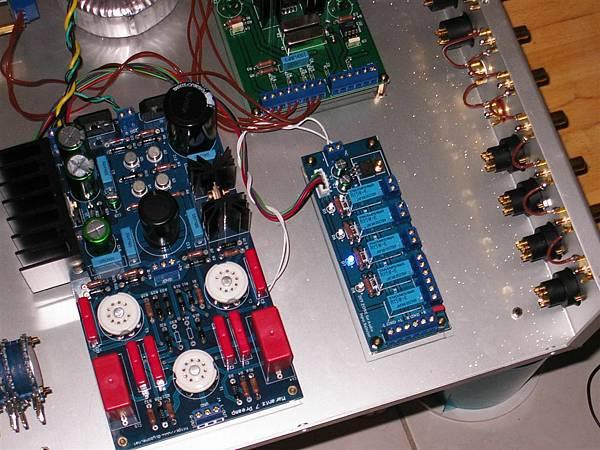 訊號選擇模組上電測試