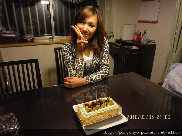 2010/3/5我34歲的生日