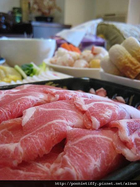 梅花豬肉片