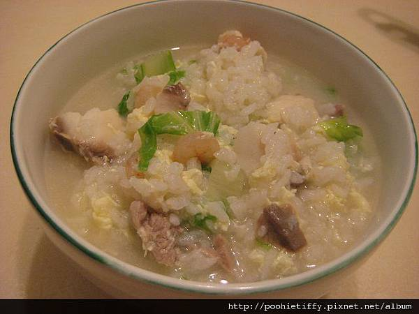 蝦仁鯛魚粥