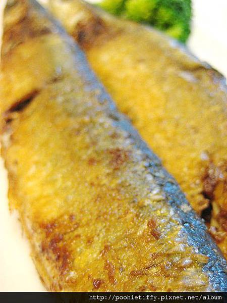 鹽煎秋刀魚