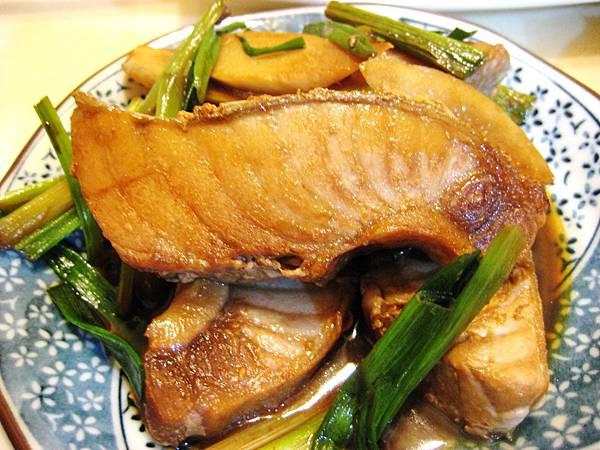 蔥燒鮪魚肚