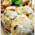 辣炒小卷+媽媽牌蔬菜魚丸
