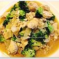 雞丁花椰菜