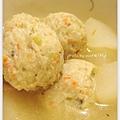 蔬菜魚丸蘿蔔排骨湯