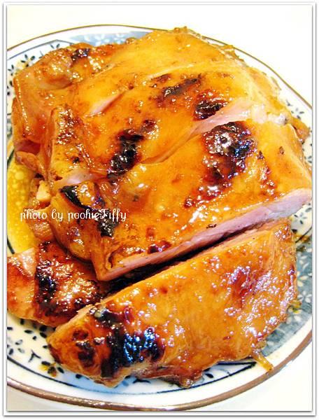 照燒醬雞腿排
