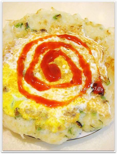 自製蔥花蛋餅