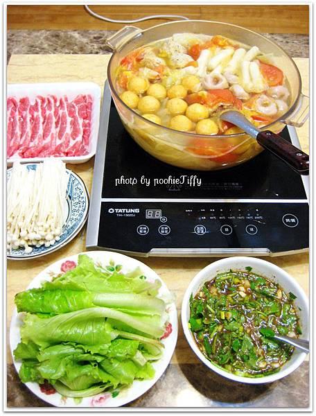 蕃茄蔬菜火鍋