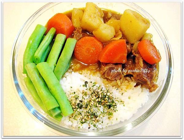 蘋果蔬菜牛腩咖哩