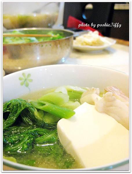 味噌豆腐鯛魚鍋