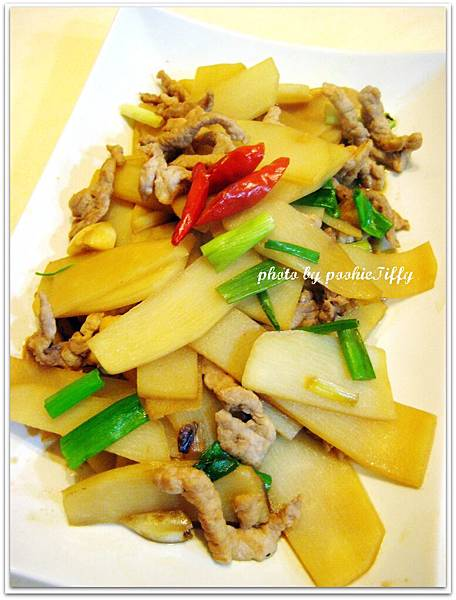 竹筍辣炒肉絲