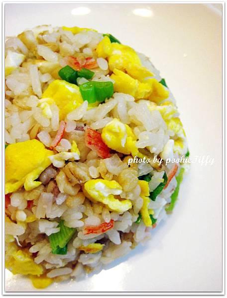 蔥花蟹肉棒蛋炒飯