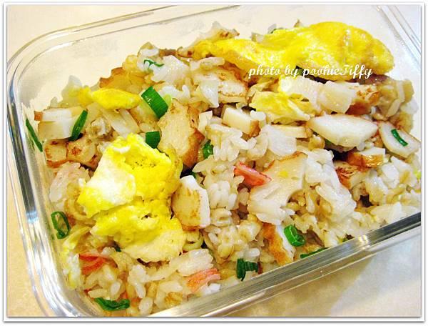 魚板蔥花蛋炒飯