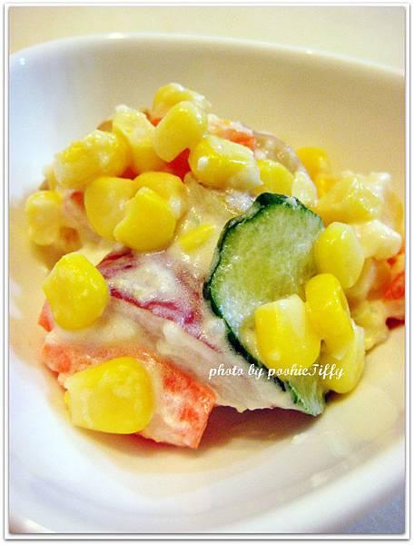男爵洋竽玉米沙拉