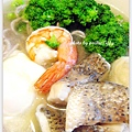 五穀海鮮湯麵