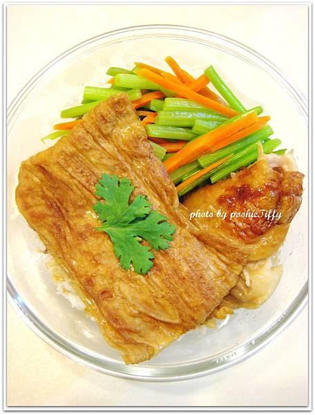 紅燒豆包+紅蘿蔔炒芹菜