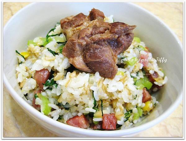 上海菜飯+香辣滷肉