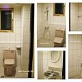 整修前舊浴室