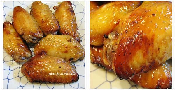 BBQ醬烤雞翅