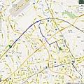 20121019 第一次遠征高鐵桃園站, 單趟15.2km, 來回30.4km