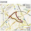 20121022 夜騎高鐵站