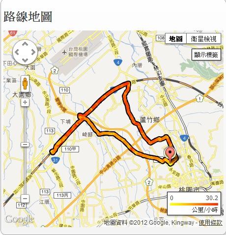20121028 傍晚高鐵遊