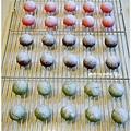 20121224 三色雪球 (巧克力雪球。草莓雪球。抹茶雪球) (5)