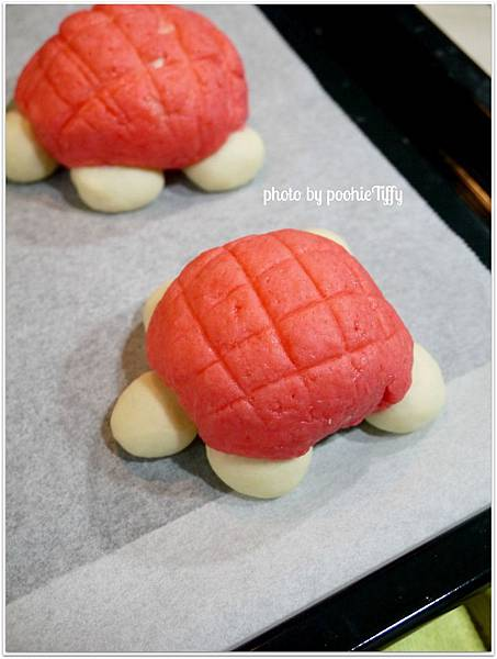 20130203 草莓菠蘿烏龜麵包 (3)