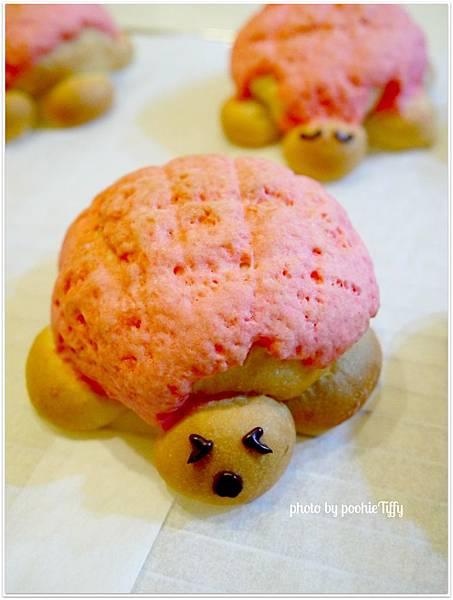 20130203 草莓菠蘿烏龜麵包 (8)