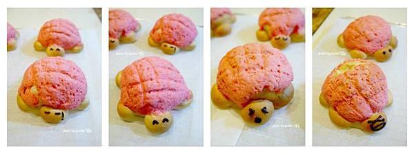 20130203 草莓菠蘿烏龜麵包 (10)